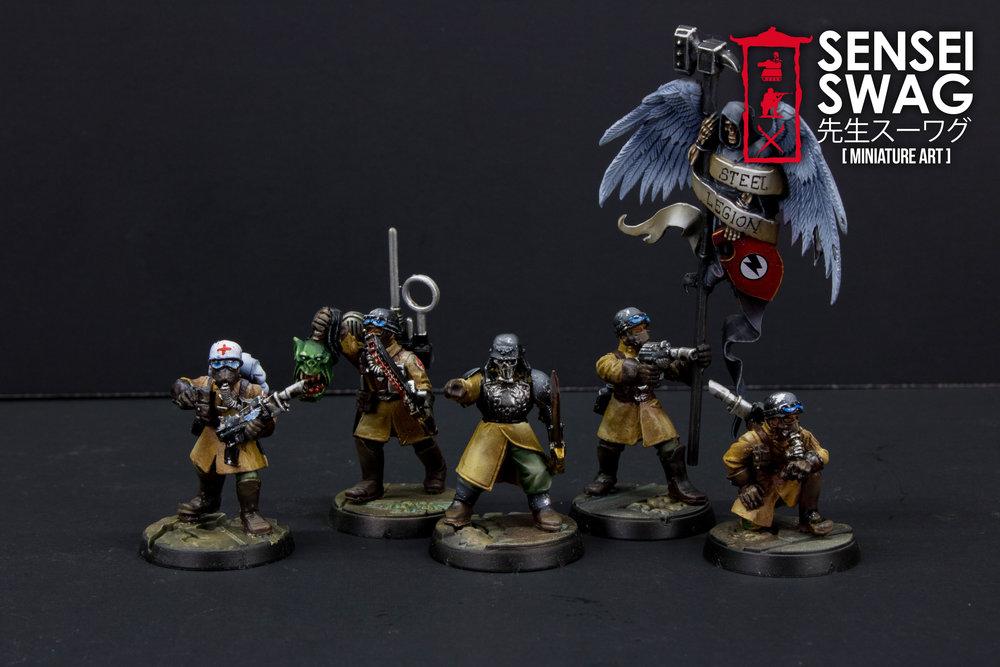 Imperial Guard Scions Militarum Tempestus Tactica