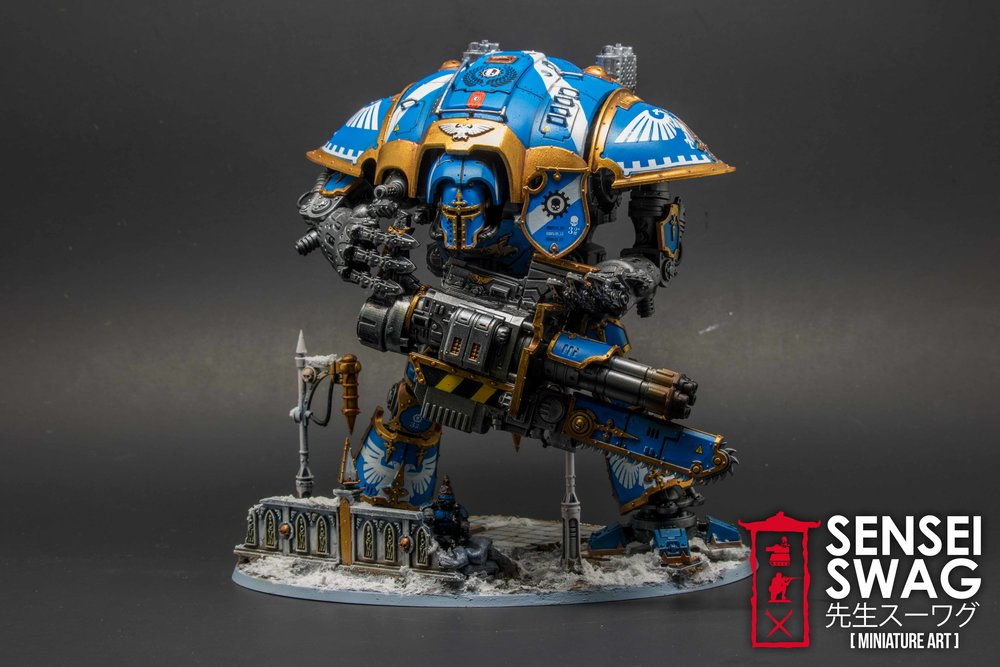 Imperial Knight Freeblade Warhammer 40k Conversion (1 of 2).jpg