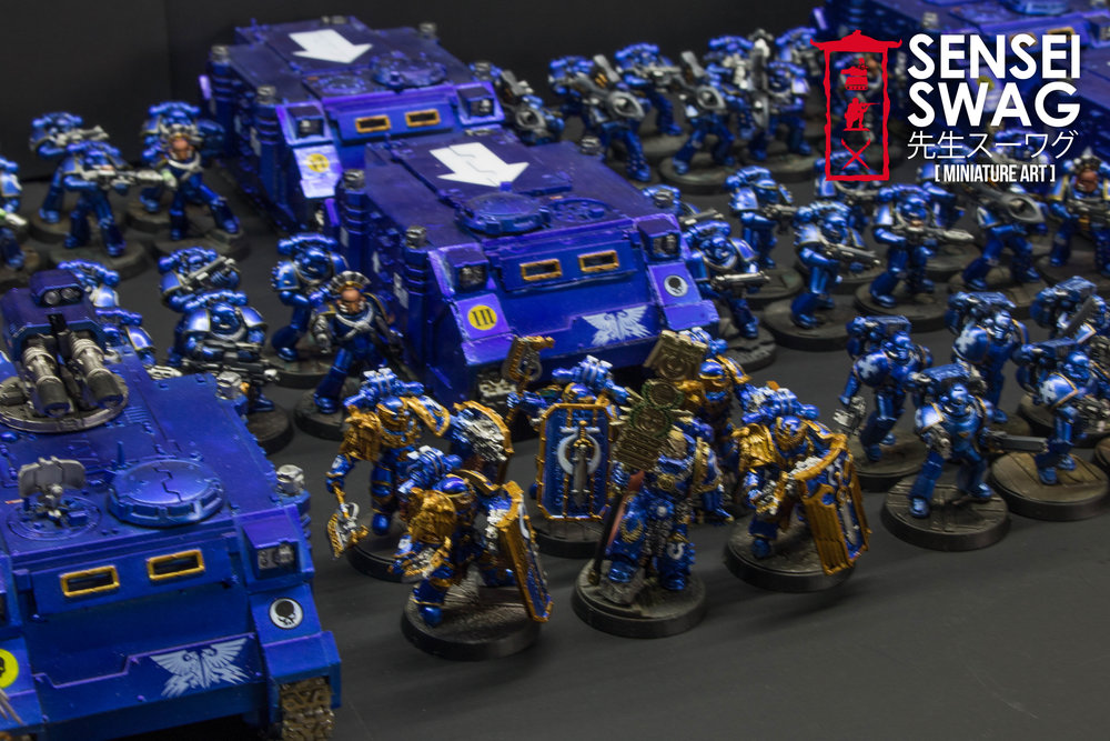 Ultramarines 2nd Battle Company Guilliman Shiny Chome Gloss Blue-6.jpg