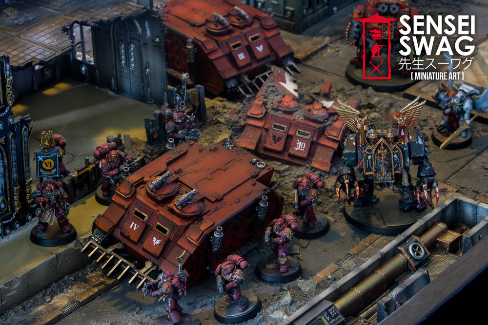 Warhammer 40k Cityfight Apocalypse Industrial Imperial Sector Forgeworld  Gametable 6