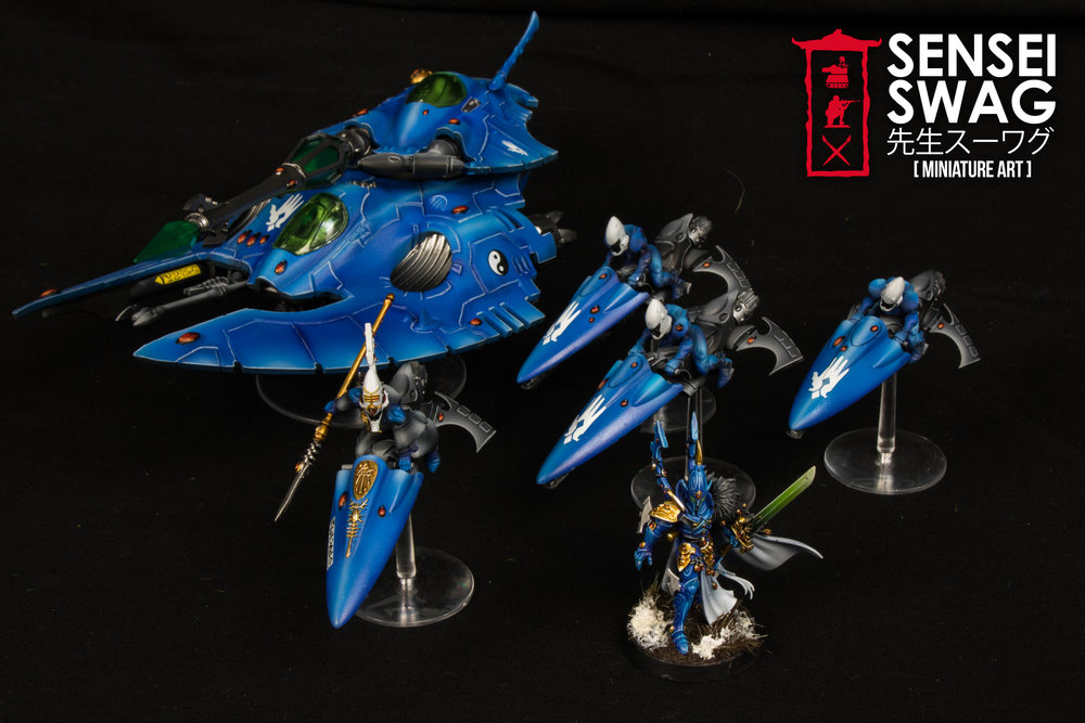 iybraesil Eldar Start Collecting Jetbikes Fire Prism Farseer-1.jpg