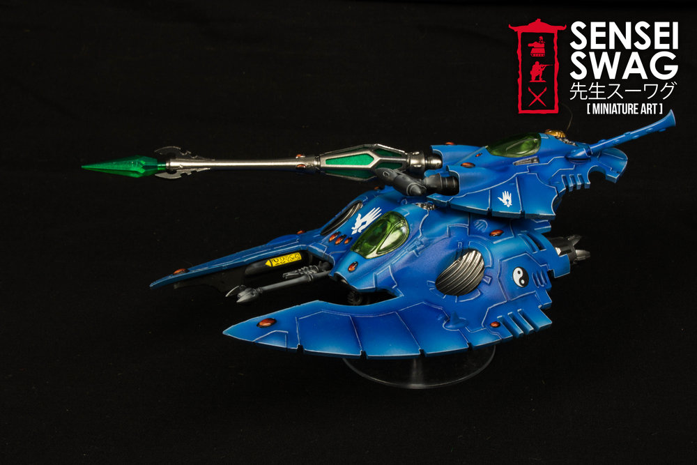 iybraesil Eldar Start Collecting Jetbikes Fire Prism Farseer-2.jpg