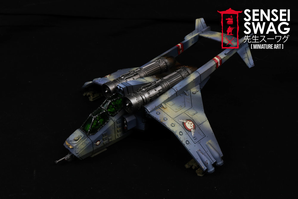 Imperial Guard Tempestus Scions Baneblade glowing lights 40k Tank-5.jpg