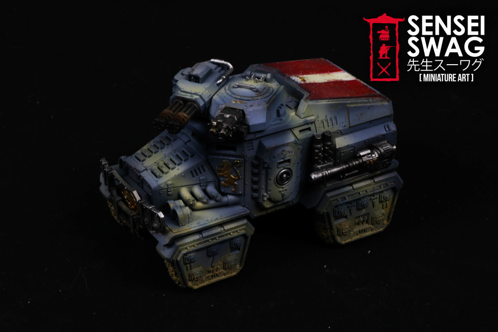 Imperial Guard Tempestus Scions Baneblade glowing lights 40k Tank-6.jpg