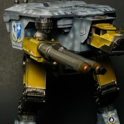 3-D PRINTED LUCIUS TITAN