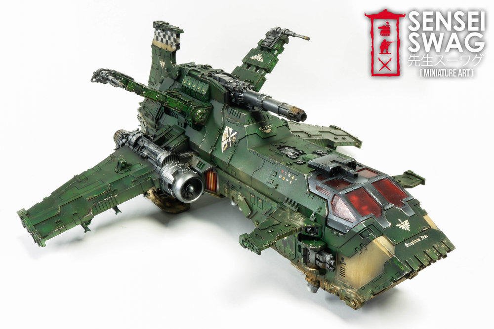 Dark Angels Thunderhawk Gunship Forgeworld Airbrush-2.jpg