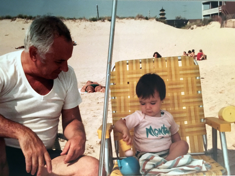 Tito and me, during my first trip to Montauk.