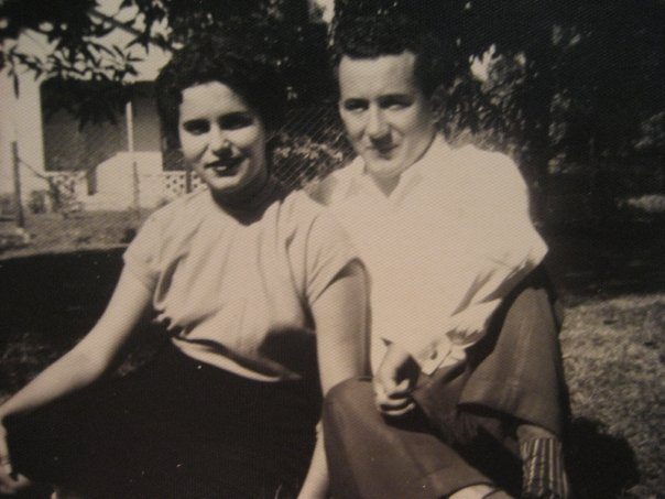 Ma (my grandmother) and Tito, in Cuba.