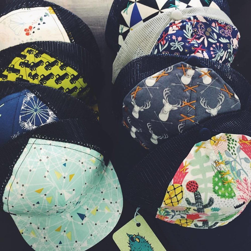 Blowfish Designs - Baby and Toddler Trucker Hats