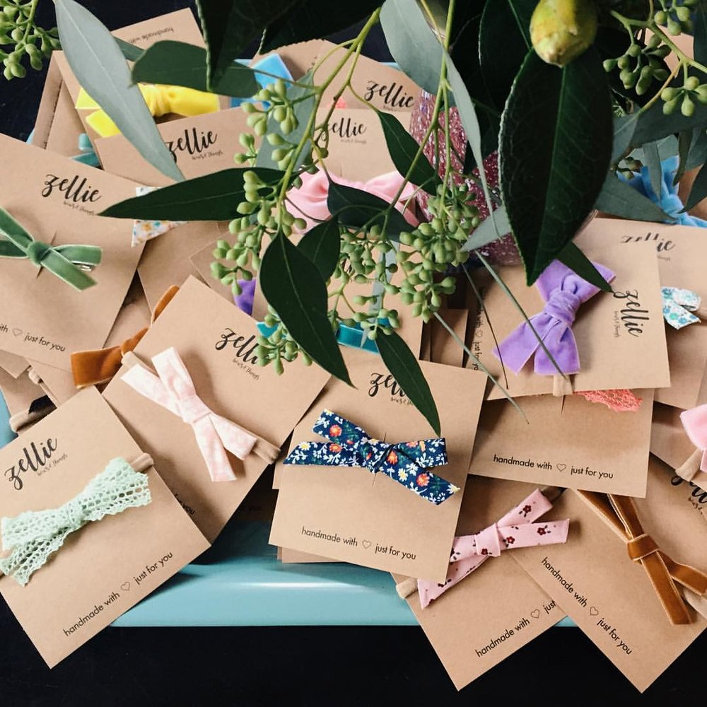 Zellie Bows - Handmade Headbands