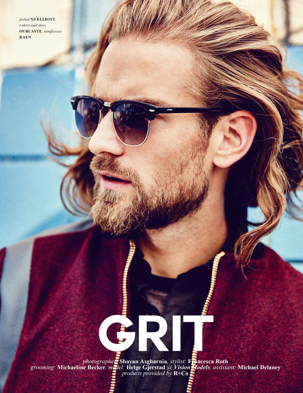 Grooming for Helge of Vision LA // Jute Magazine