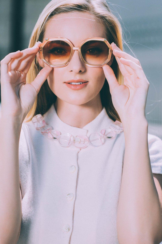 Makeup & hair for Jessica // WOMN Magazine