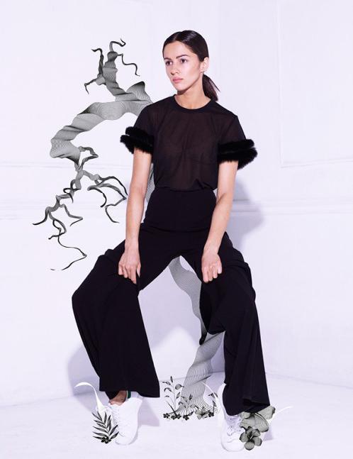 Hair for Annet Mahendru // Schon Magazine