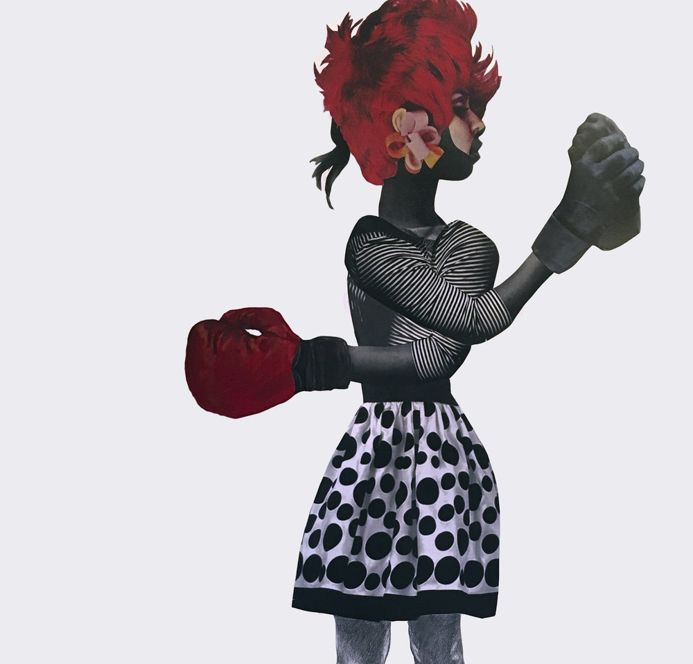 Deborah Roberts      N obody's Darling: Women and Representation    At The Christian-Green Gallery May 2, 2017 - August 11, 2017    View More