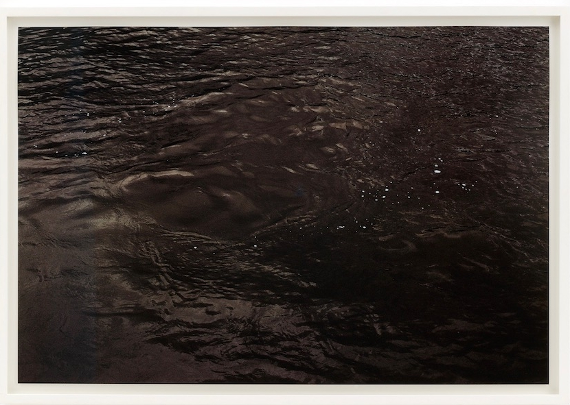 Roni Horn From Some Thames Group B (Ed. 2/8)  Photograph printed on paper, UV Lacquer, 2000 38 x 25 inches