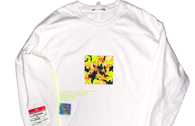The Whitney Museum got a taste of the hypebeast crowd on Friday afternoon when the first ABC shirt for the museum's Warhol exhibition dropped.  By WWD November 16, 2018    View More