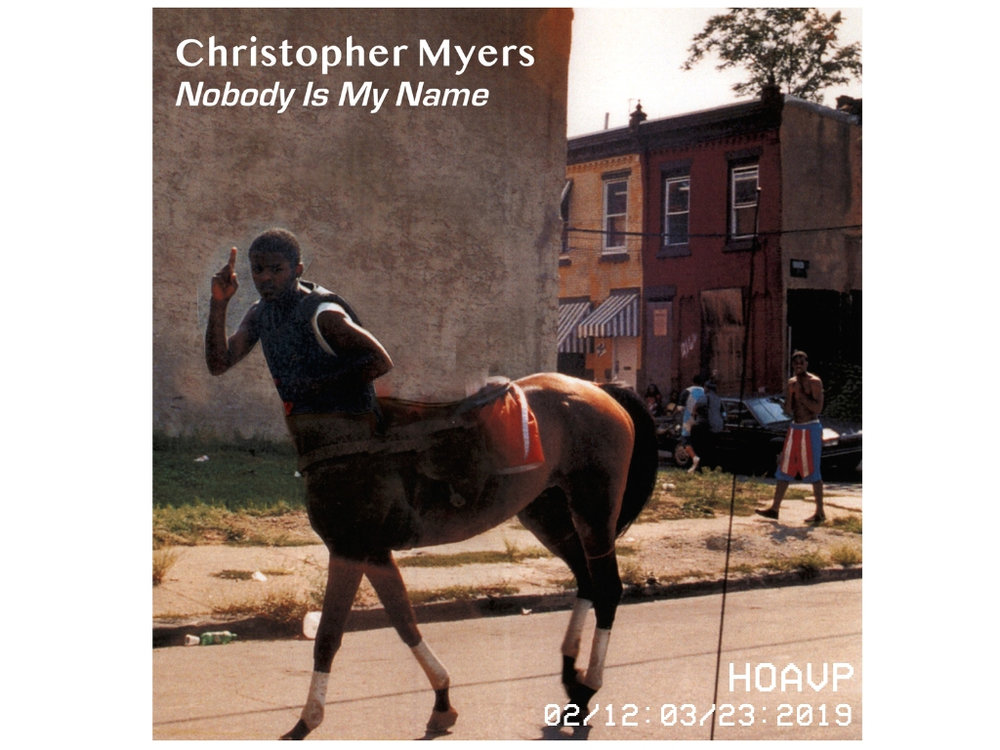 "The Mistake Room announces:  Christopher Myers "" Nobody Is My Name""    February 12 - March 23, 2019           View More"