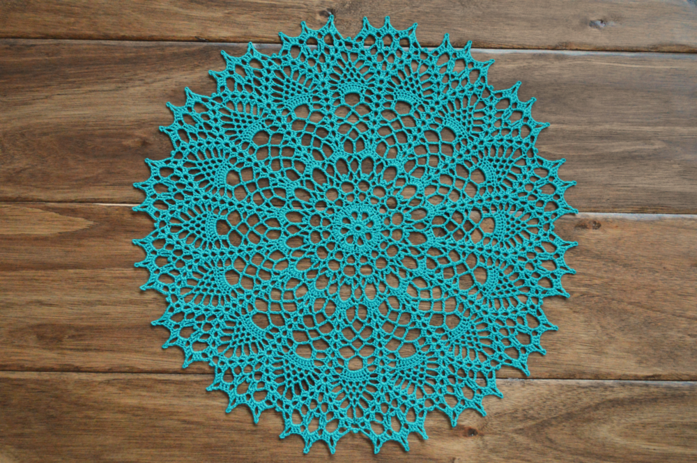 Doily 7 From Magic Crochet October 2004 Issue 152 Gracefearon