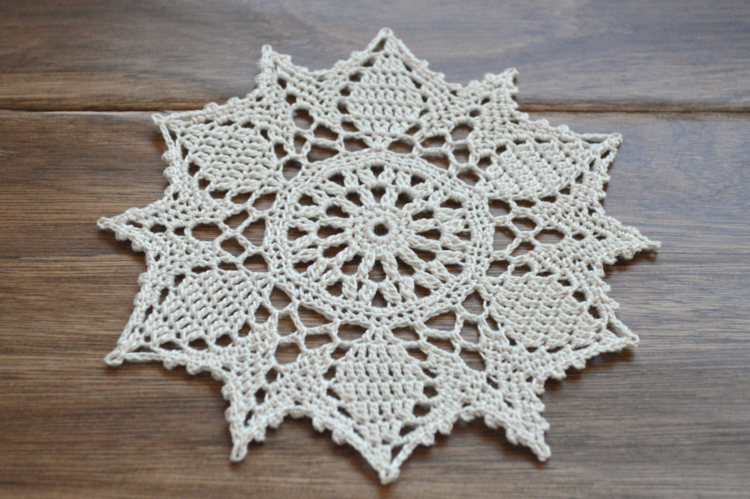 This First Doily Is 8 From The Book 99 Little Doilies Which A Of Tiny Patterns By Patricia Kristoffersen