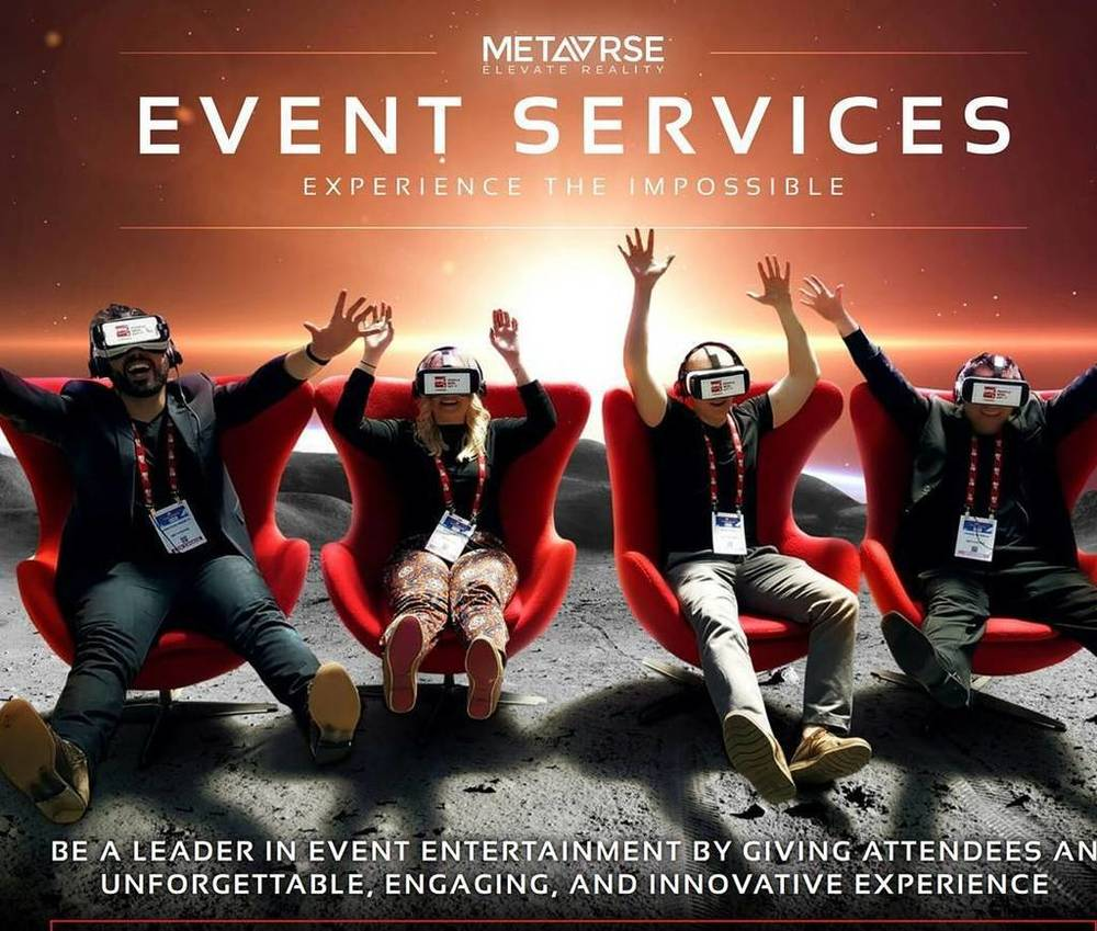 Metavrse is Canada's first Virtual Reality experience and live event company.