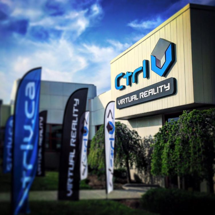 Ctrl V is   Canada's first  virtual reality (VR) arcade / gaming hub, where you can experience the newest frontier in entertainment.