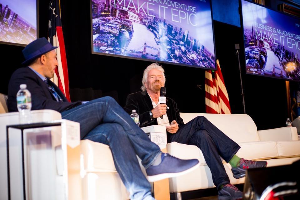 Richard Brandon speaks at the Under 30 summit. (Photo: Jordan Tempro)