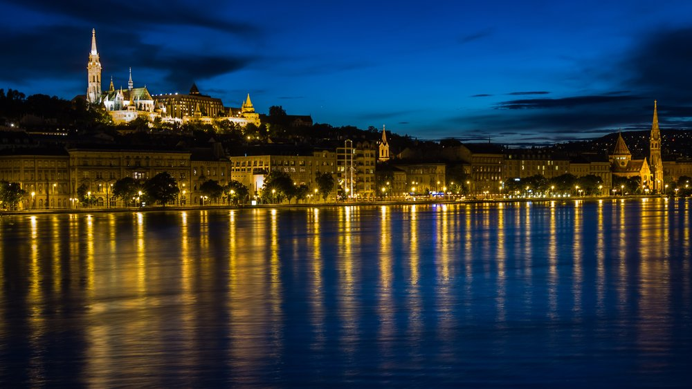 Budapest from the Danube River