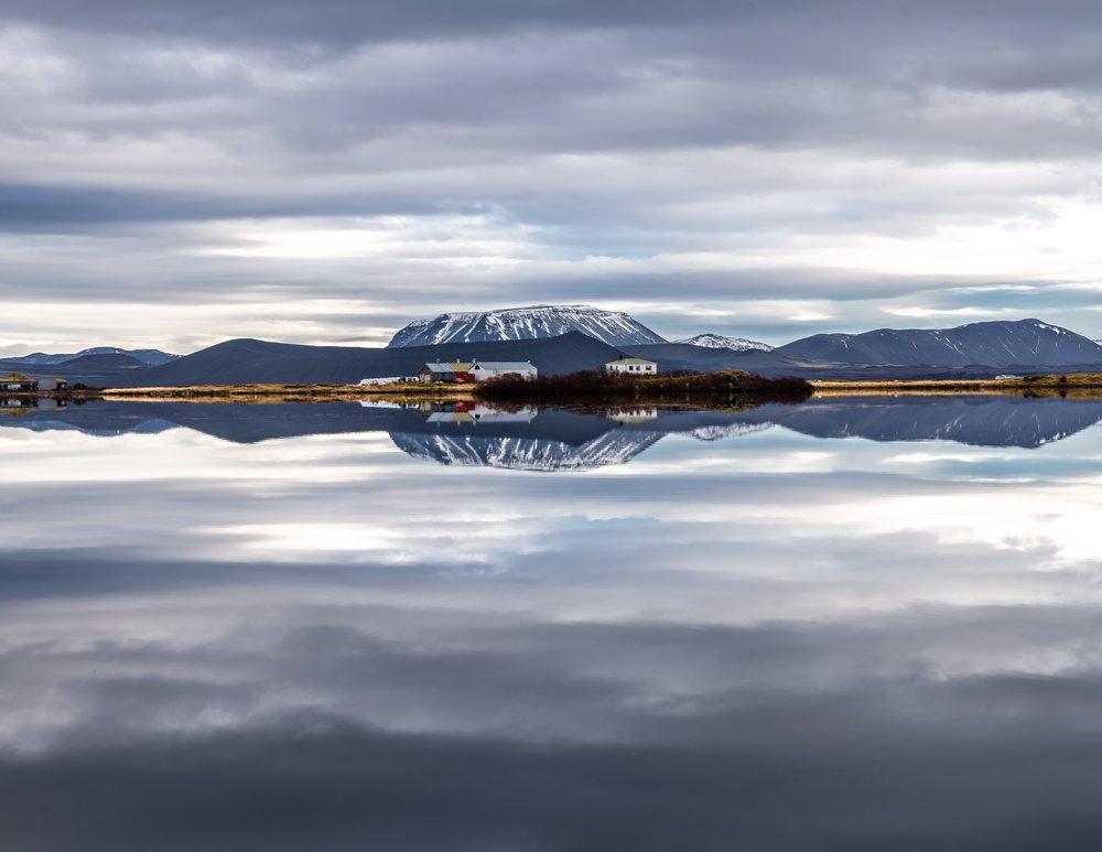 Mývatn, Iceland near Grjótagjá
