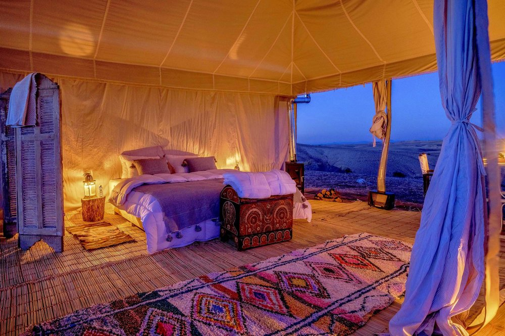 Source:  Agafay Desert Luxury Camp