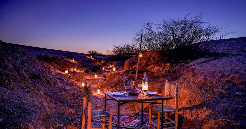 Candlelit dinner in the desert, anyone?