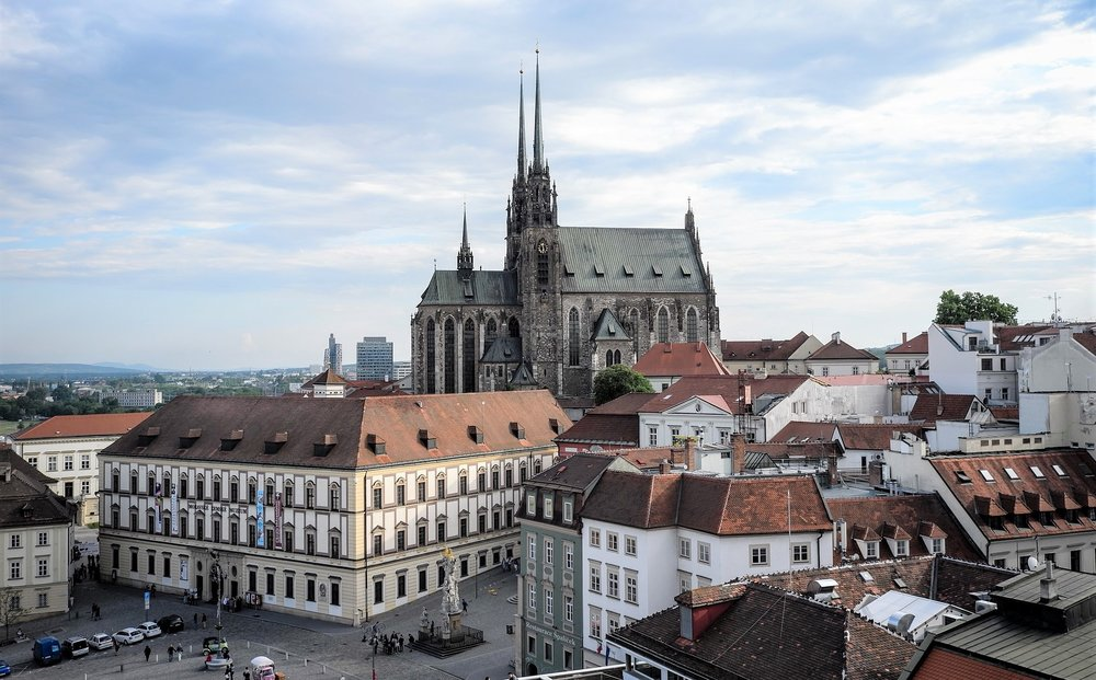 The Cathedral of Saints Peter and Paul is one of the most important pieces of architecture in the Czech Republic.