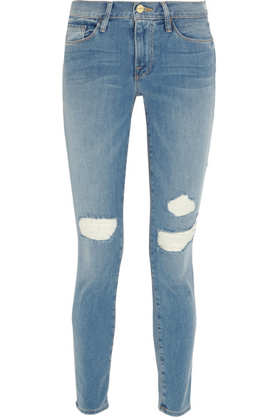 Frame Distressed Denim