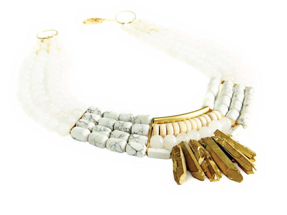 Protea Necklace by History & Industry