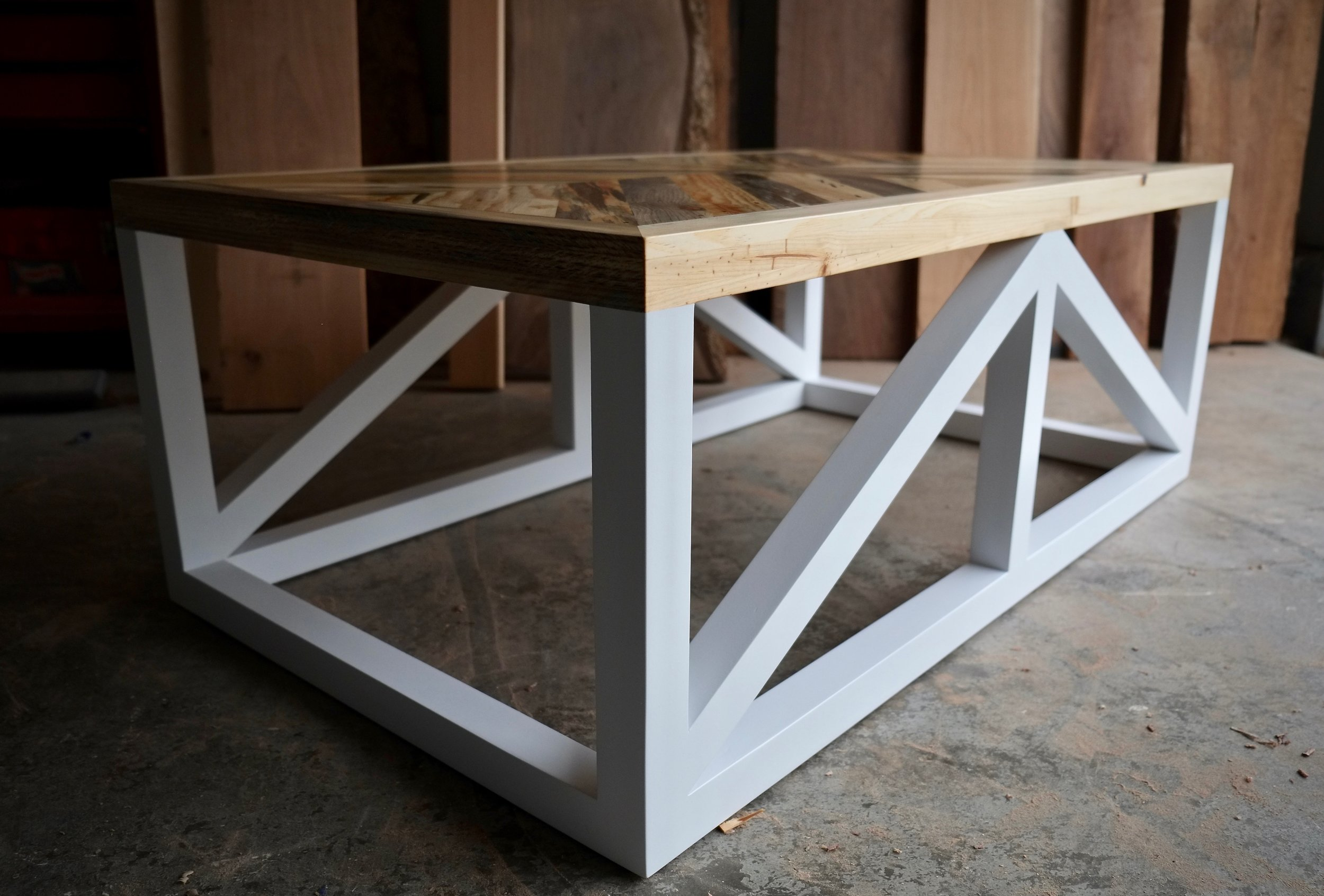 Herringbone Coffee Table — Joseph Ryan Furniture