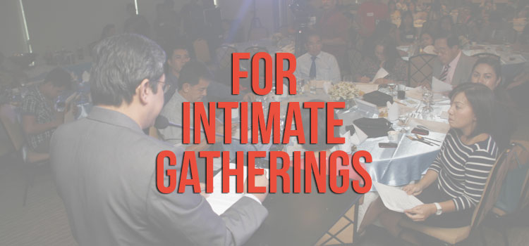 Intimate Gatherings