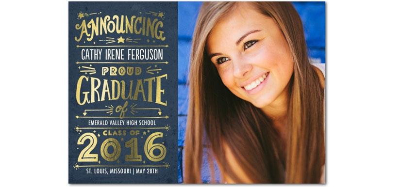 Graduation 2016 Invite