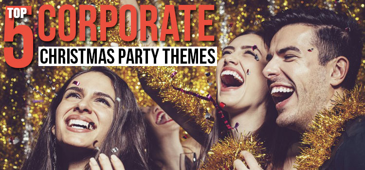 top 5 corporate christmas party themes