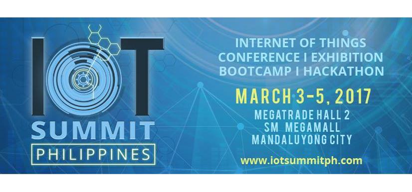 IoT Summit Philippines 2017