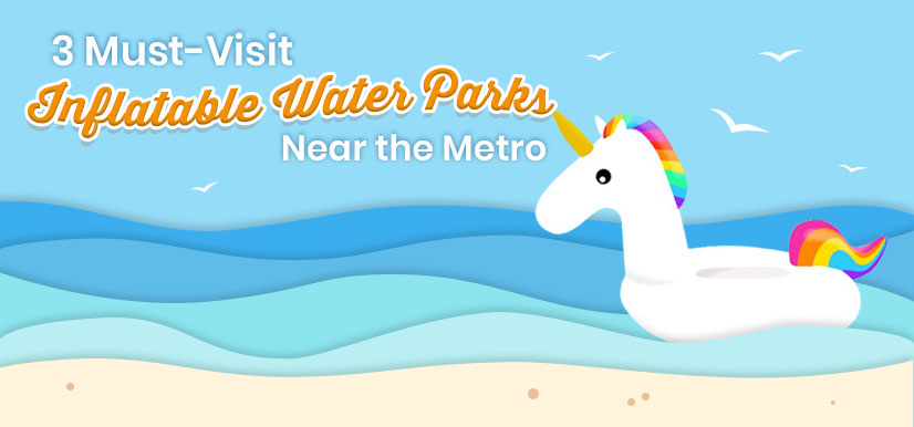 3 Must-Visit Inflatable Water Parks Near the Metro