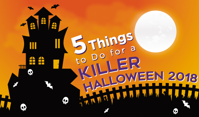 5 Things to Do to Shake Up Your Halloween