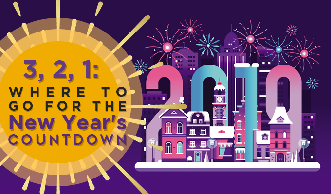 3, 2, 1: Where to Go for the New Year's Countdown