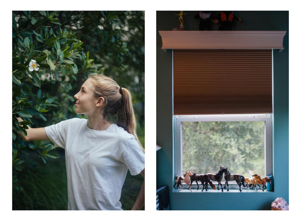 RYLEE MAXWELL, 13, beekeeper, student, athlete