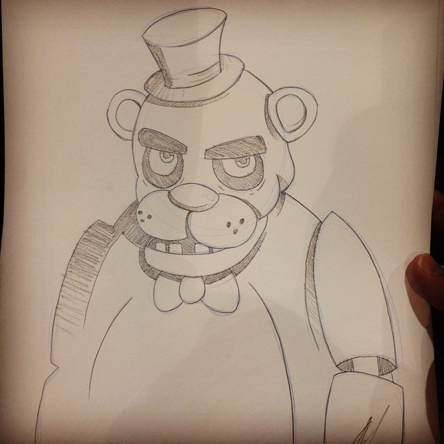 Con Sketches - Five Nights at Freddy's