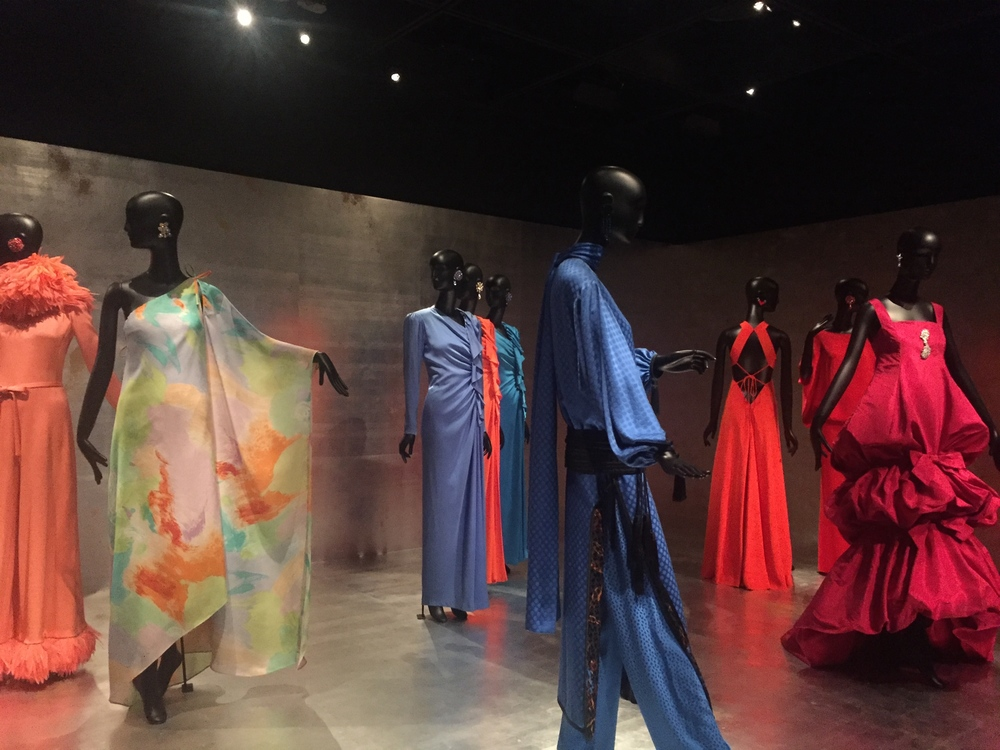 Jacqueline de Ribes exposition at The Met. I have never been so amazed by the beauty of a museum.
