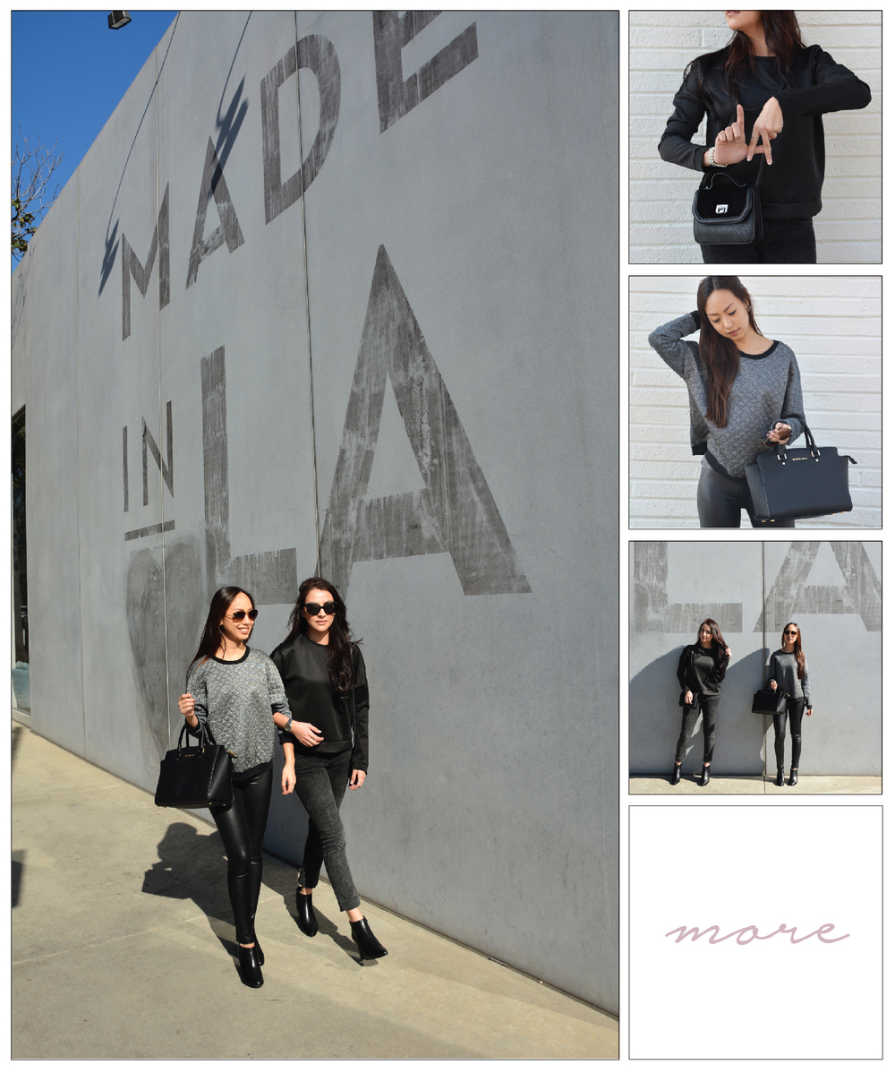 Every girl has a story and ours is set in LA. We love everything about this city including the tasty food, trendy fashion, friendly people and most importantly, the hipster walls that make our blog posts so cool 😜