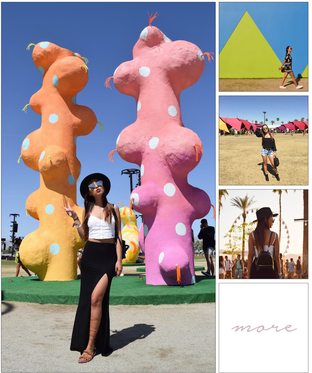 One word to describe Coachella: INTENSE. This year I decided to venture myself and see what Coachella was about. Click on the image to see my full experience and outfit details!