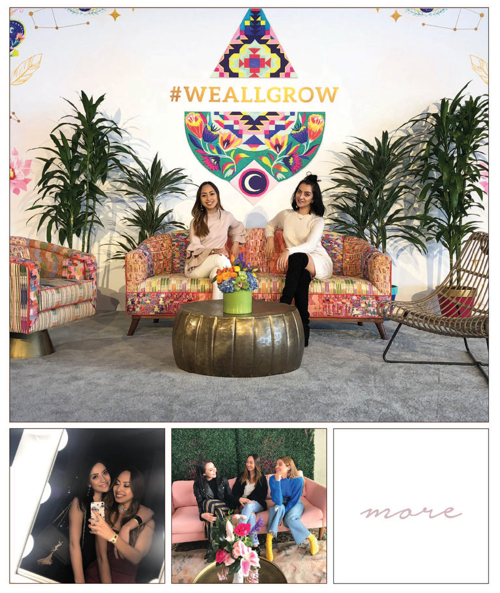 You may have gotten a glimpse on our Instagram account of some of our favorite moments from the  We All Grow  conference we attended the first weekend of March. #WeAllGrow is a unique Latina influencer and creative entrepreneur network that comes together once a year to bring women together who are like minded and wanting to share their dreams, knowledge, and success stories.