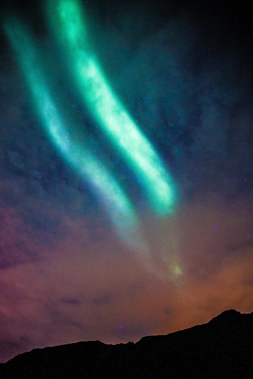 Auroras in Iceland