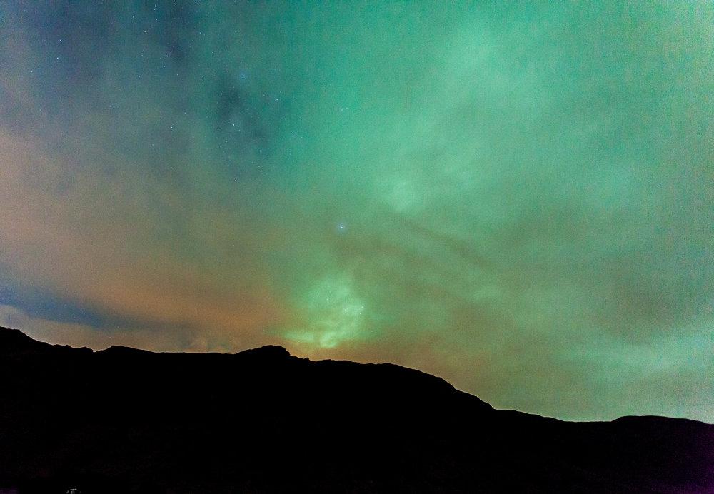Iceland auroras