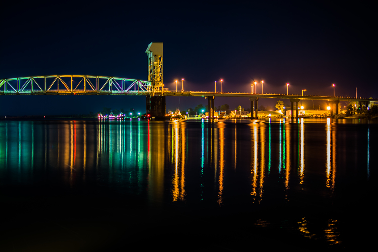 Cape Fear Memorial Bridge - Wilmington,NC
